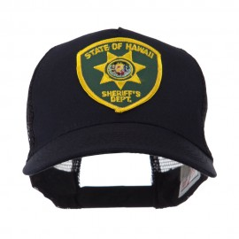 USA Western State Police Embroidered Patch Cap - HI State