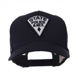 USA Western State Police Embroidered Patch Cap - NM State