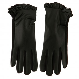 Women's Ruffle Edge Texting Glove