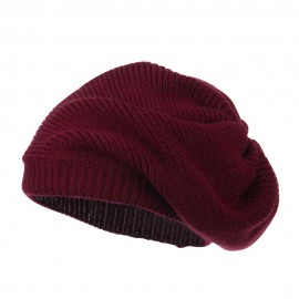 Women's Ribbed Knit Beret