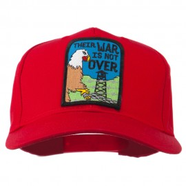 Their War Not Over Military Patch Cap