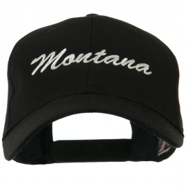 Western States Embroidered Cap - Montana