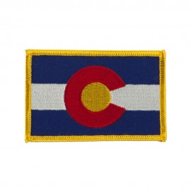 Western State Embroidered Patches - Colorado