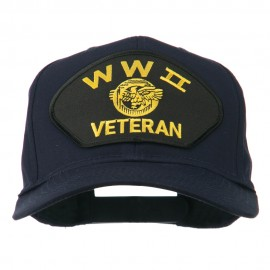 WW2 Veteran Military Patch Cap - Navy