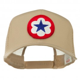 WWII Army Service Forces Patched Mesh Back Cap