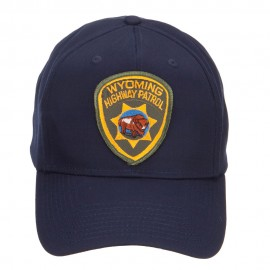 Wyoming Highway Patrol Patched Cap