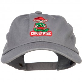 Christmas Elf Patched Unstructured Cap