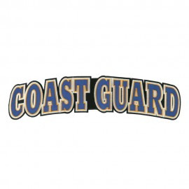 Extra Large Coast Guard Embroidered Patch