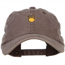 Mini Vulcan Salute Embroidered Unstructured Dyed Cap