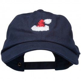 Christmas Hat Embroidered Unstructured Cap