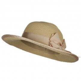 Girl's UPF 50+ Wide Brim Sun Hat - Pink