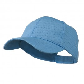 Youth Athletic Jersey Mesh Cap - Light Blue