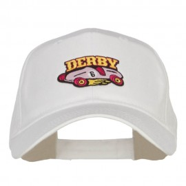 Derby Race Car Patched Cotton Cap