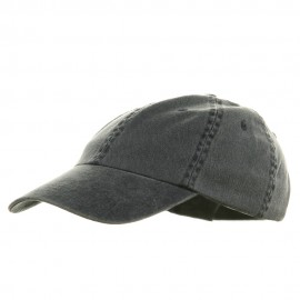 Youth Pigment Dyed Washed Cap - Navy