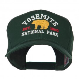 Yosemite National Park Embroidered Cap - Green