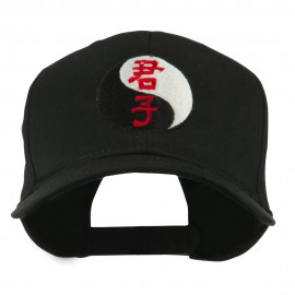 Ying and Yang Symbol Chinese Embroidered Cap