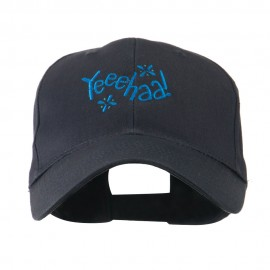Yeeehaa Cowboy Saying Embroidered Cap