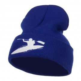 Kayak Sports Embroidered Long Beanie