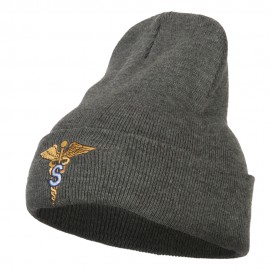 Army Medical Specialist Embroidered Long Knitted Beanie