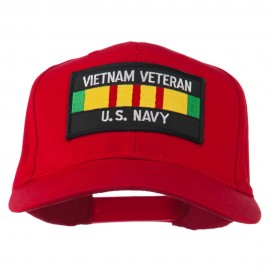 US Navy Vietnam Veteran Patched Cap
