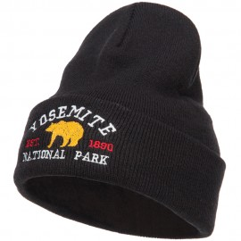 Yosemite National Park Embroidered Long Beanie