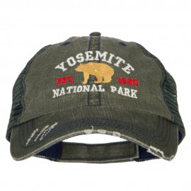 Yosemite National Park Embroidered Low Profile Mesh Cap
