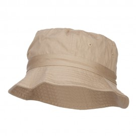 Youth Pigment Dyed Bucket Hat-Khaki