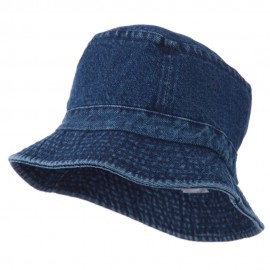 Youth Pigment Dyed Bucket Hat-Denim
