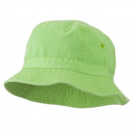 Youth Pigment Dyed Bucket Hat-Apple Green
