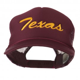 Youth Mid States Texas Embroidered Foam Mesh Cap
