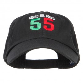 Cinco de Mayo 55 Embroidered Low Cap