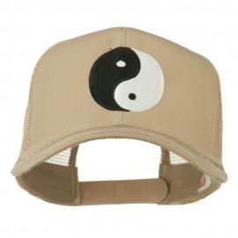 Ying Yang Symbol Embroidered Cap