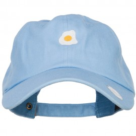 Mini Fried Egg Embroidered Unstructed Cap
