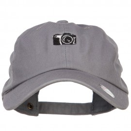 Mini Camera Embroidered Unstructured Cap