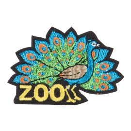 Zoo Embroidered Patches