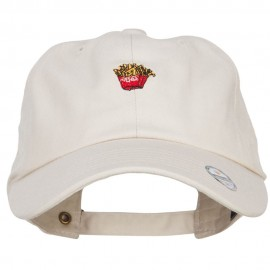 Mini French Fries Embroidered Unstructured Cap