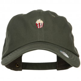 Mini Popcorn Embroidered Unstructured Cap