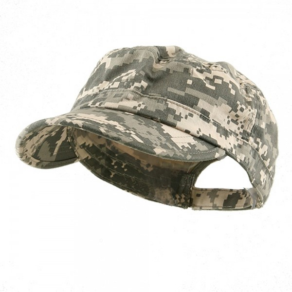 Cadet Digital Camo Sky Blue Camo Enzyme Army Cap E4hats