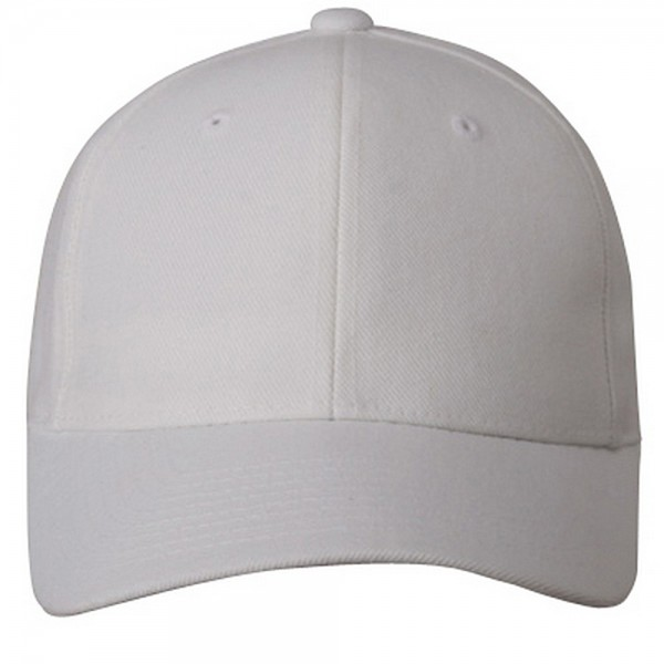 Ball Cap White Pro Style Fitted Cap Coupon Free