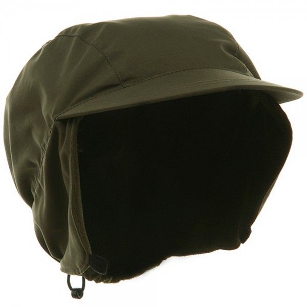 Trooper - Olive Outdoor Hunting Cap  1561c8c4427
