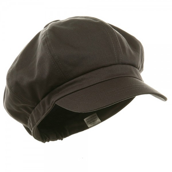 90b0fa2a Newsboy - Charcoal Big Size Cotton Newsboy Hat | Coupon Free ...