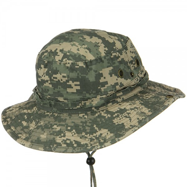 fbfb4a2be9d Outdoor - Digital Camo Washed Hunting Hats