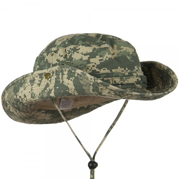 0bb6a5c0fb64d Outdoor - Digital Camo Washed Hunting Hats