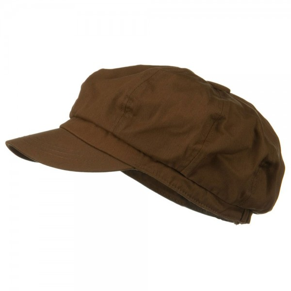 32210e59 Newsboy - Brown Big Size Cotton Newsboy Hat | Coupon Free | e4Hats.com