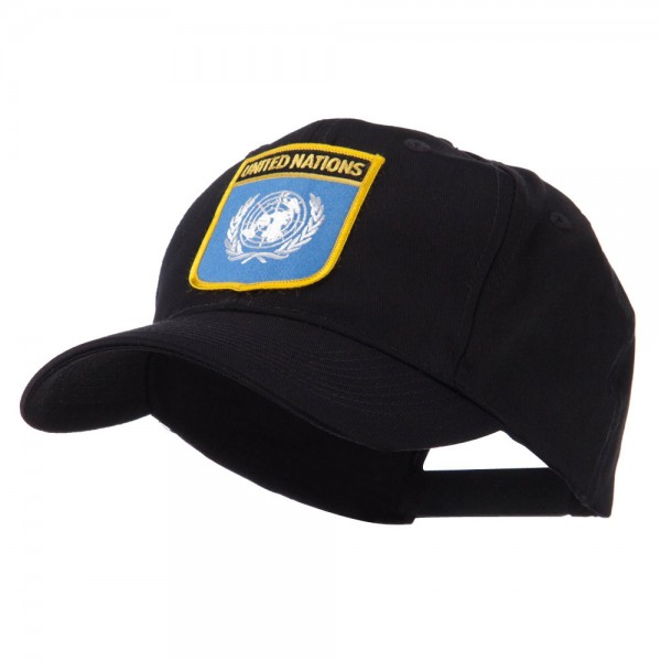 e4Hats.com Asia Australia and Other Flag Shield Patch Cap
