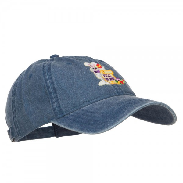 e4Hats.com Easter Bunny Egg Patched Washed Cap