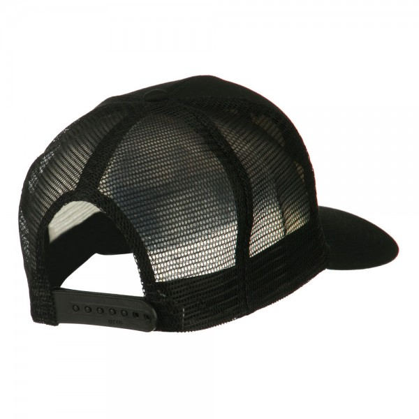 3f12b3b1e75 ... Chief Engineer Embroidered Twill Mesh Cap - Black ...