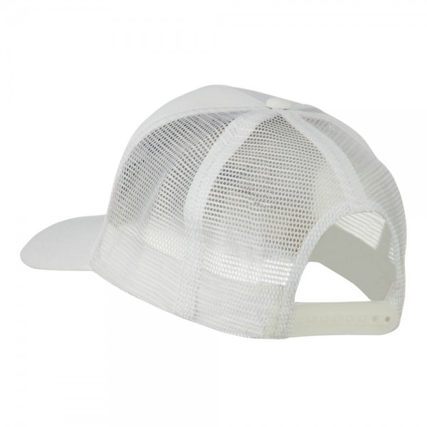 d93d4f6ffb1 ... Chief Engineer Embroidered Twill Mesh Cap - White ...