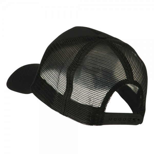Embroidered Cap Black Chinese Water Embroidered Cap E4hats
