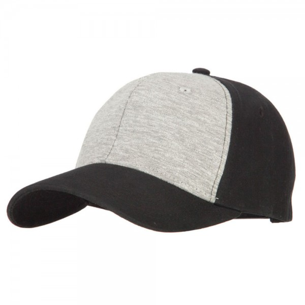 ... Deluxe Brushed Cotton Two Tone Twill Cap - Heather Grey. Heather Grey  (View 1) ... 71ef8fd91cbe